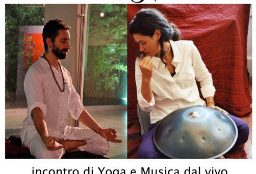 yoga e musica dal vivo con Laura Inserra e Takai
