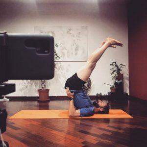 Lezioni online Takai Yoga del centro Turiya di Roma