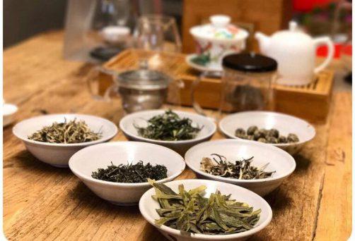 i colori del tè –  una tea class