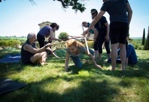 workshop di Yoga Destrutturato