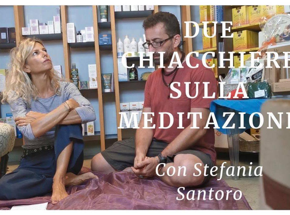 due chiacchiere sulla meditazione